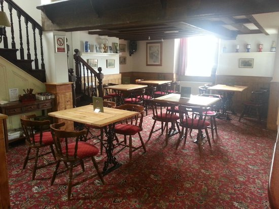 The Three Tuns Hotel: dining area for 36