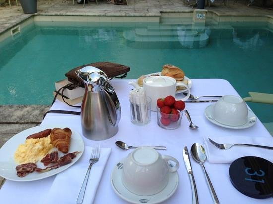 Hotel de l'Image : breakfast time
