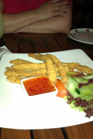 Papa's Limoncello Bali : chicken fingers
