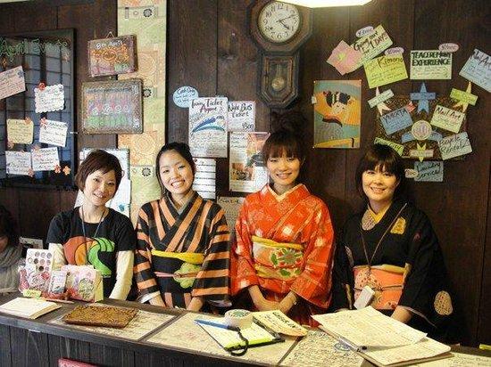 The Wonderful Staff of Nagomi Ryokan Yu