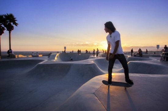 Los Angeles, CA: Venice Beach Skatepark, courtesy of John K. Goodman