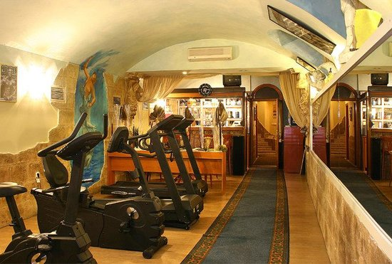 Hotel Swing City: Fitness