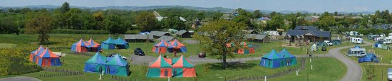 Clyst St Mary, UK: Crealy Meadows Caravan and Camping Park