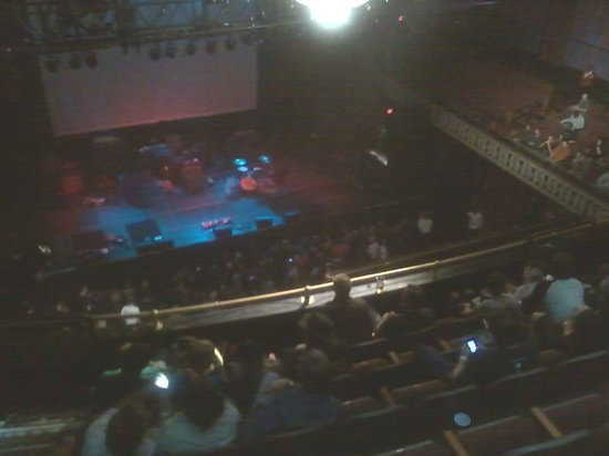 The Tabernacle View From My Seat