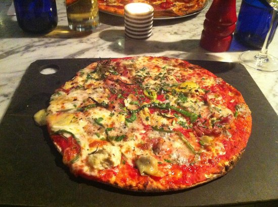Yummy Gf Pizza Picture Of Pizza Express Camberley