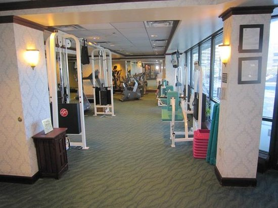 Silver Legacy Resort and Casino: fitness centre