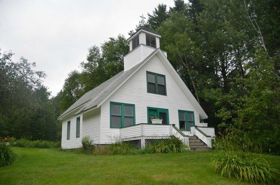 Chesuncook Village, ME: Chesuncook Meeting House/Church