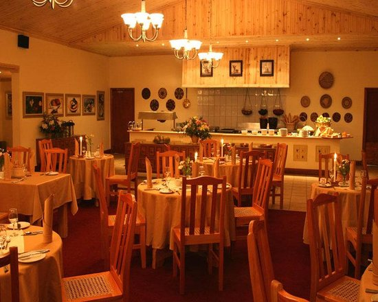 Magoebaskloof Hotel: The Tlou Restaurant