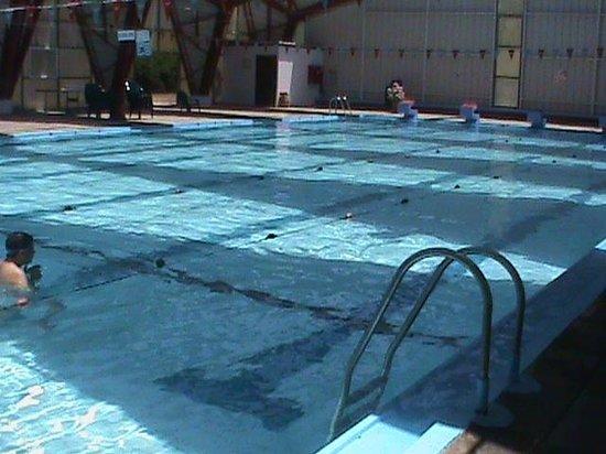 Merom Golan Resort Village: the pool