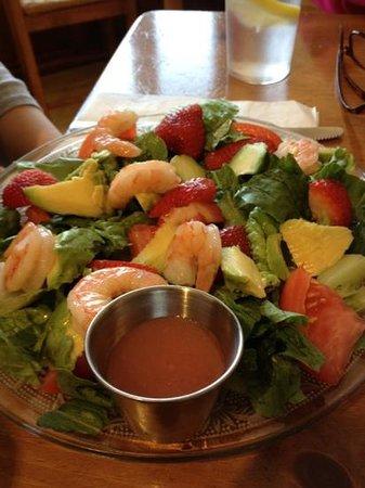 Boardwalk Cafe: shrimp & avocado salad