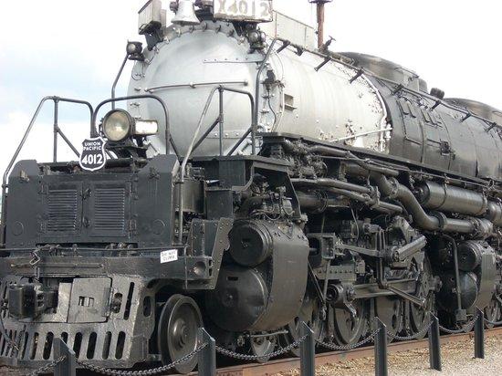 Steamtown National Historic Site : Big Boy 1.2 million ton engine!