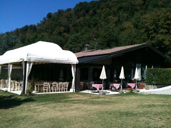 Il Bagnolo Eco Lodge : ristorante