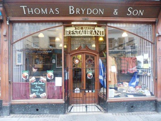 Brydons Bakery Restaurant: our shop
