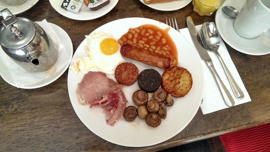 Grand Canal Hotel: Full Irish breakfast at Epic Restaurant