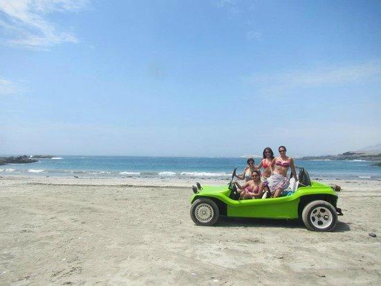 Casma, Perú: playa punta el huaro