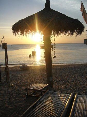Coco Lanta Resort: Plage de l'hôtel