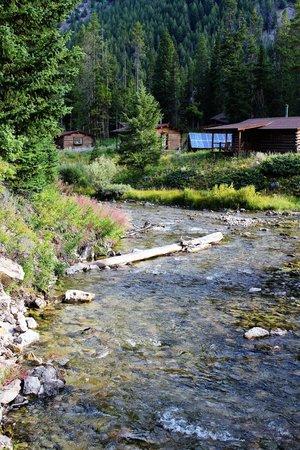 Flat Creek Ranch: Creek