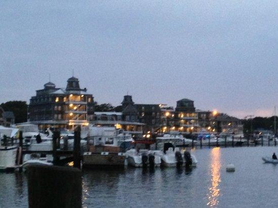 Martha's Vineyard Surfside Motel : View from Marina