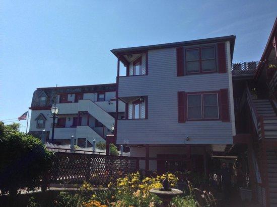 Martha's Vineyard Surfside Motel : inside garden area