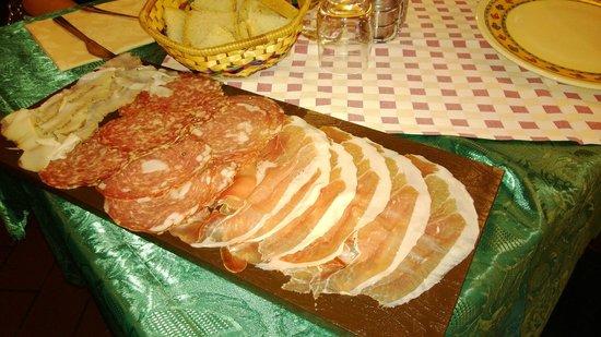Taverna Del Fiorentino: deliziosi affettati
