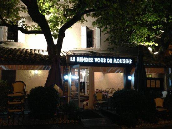 Le Rendez Vous de Mougins : Le restaurant