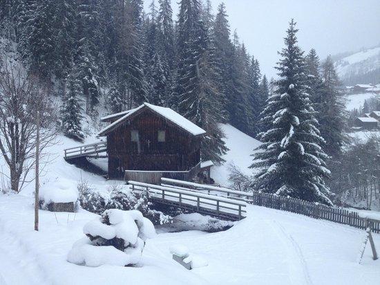 Gasthof Al Bagn: una giornata di neve