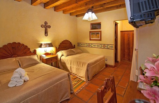 Hotel Pueblo Magico: HABITACION CUADRUPLE