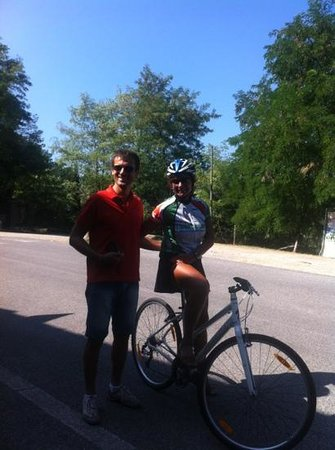I Bike Tuscany : Elena and Pierro - our guide and driver