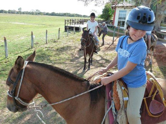 Pousada Piuval: passeios a cavalo