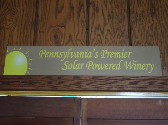 Luthersburg, PA: Solar powered