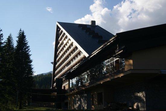 Hotel Patria : Das Hotel von außen