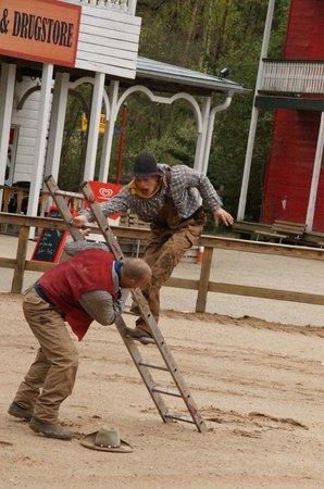 Erlebnispark Schloss Thurn: Stuntshow 1