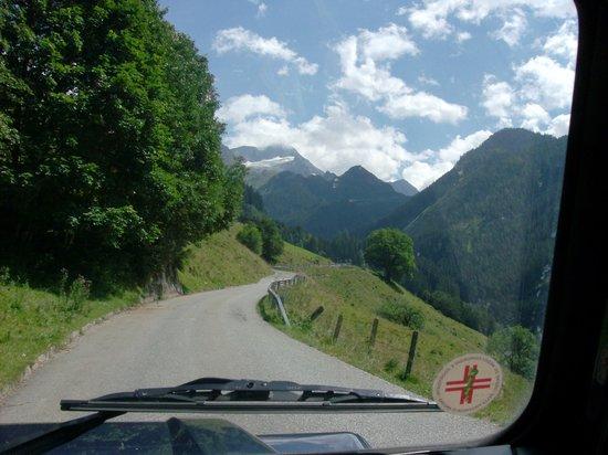 Alpengasthof Enzingerboden: la stada per arrivare all'albergo
