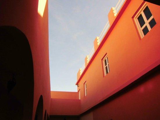 Xanadu : Vue du patio