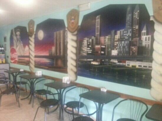Ariano Nel Polesine, Italie : interno bar