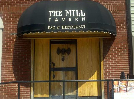 The Mill Tavern: Front door
