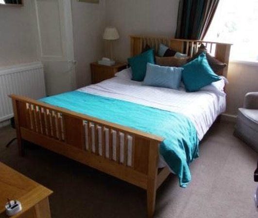 The Original Rosslyn Hotel: Double bed