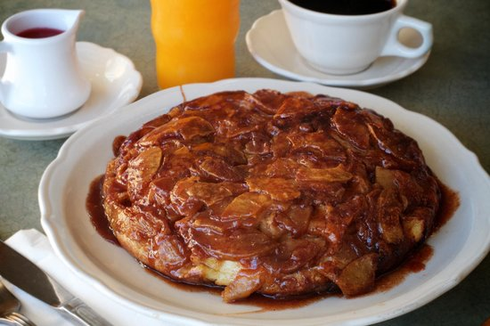 Buttermilk pancakes batter takes 5 days to make gluten free also the original pancake house signature apple pancake ccuart Gallery