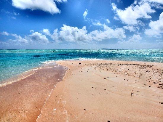 Tikehau Ninamu Resort: spiaggia del Ninamu