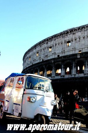 Ape Roma Tour - Day Tours