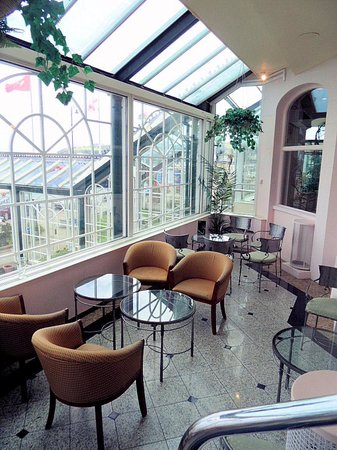 The Empress Hotel: Jardin d'hiver