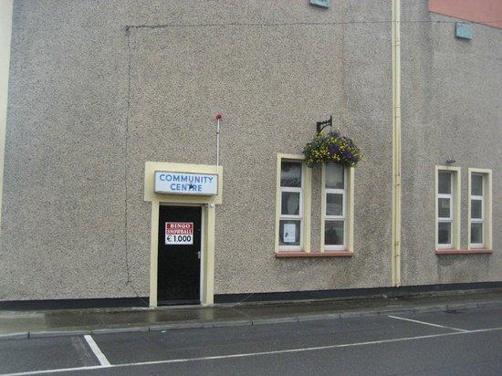 Buncrana Cinema: Community entrance
