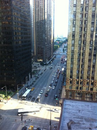 Magnificent Mile Millenium Park View From Our Room Picture Of