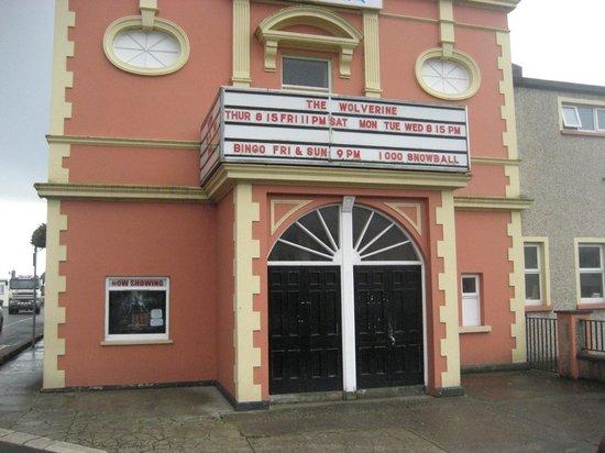 Buncrana Cinema: Cinema entrance