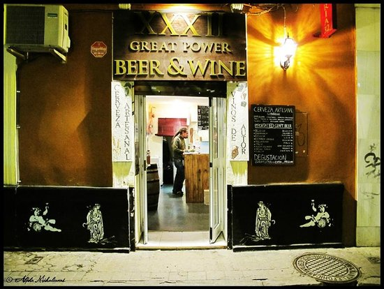 XXXII Great Power Beer and Wine: La Calle