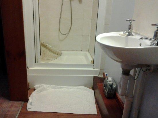 Kings Arms Hotel: Dimensiones del baño