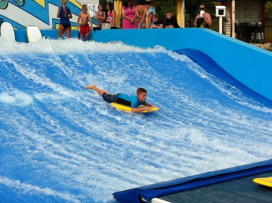 Carmel, IN: Riding on the Flow Rider!