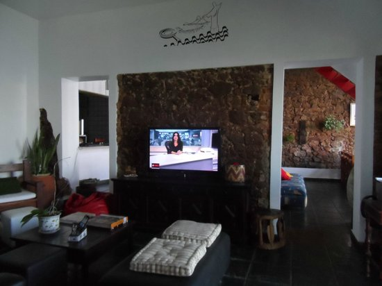 Solar Chacara Hostel: Living room