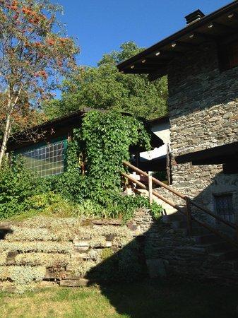Agriturismo Cà di Mostach: Ingresso veranda