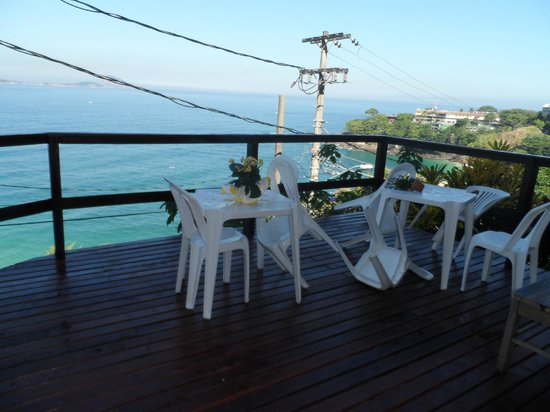 Solar Chacara Hostel: Balcony